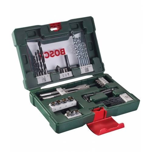Bosch Bohrer- und Bit-Set »V-Line«, 41-tlg., grün