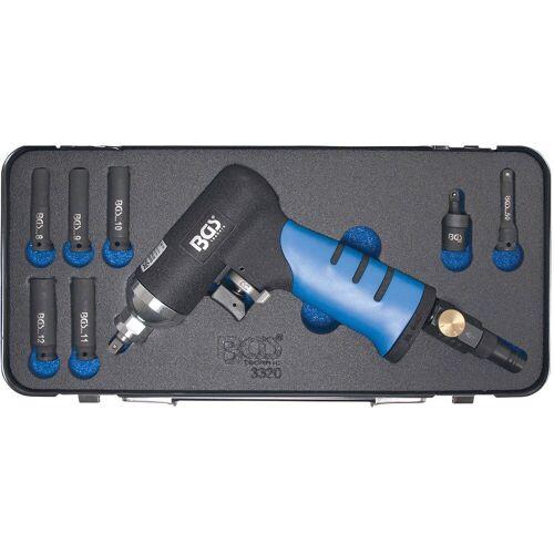 BGS Druckluft-Schlagschrauber für Glühkerzen, blau