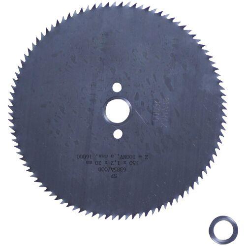 Connex Kreissägeblatt Hand-/ Tischkreissägeblatt, CV, Feinstzahn, Ø 127 mm, grau