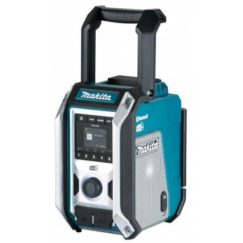 Makita »DMR115« Baustellenradio (DAB / DAB+ 174.928 - 239.200 MHz, Frequenzbereich UKW 87,5-108 Mhz)