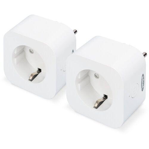 Ednet Smart Home Zubehör »Sprachgesteuerte Steckdose, Doppelpack«, Weiß