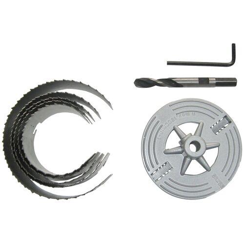 Connex Lochsäge »60 - 95mm«, Set, 6-tlg., für Rohrdurchführungen, Ventilationsinstallationen und Hohllochbohrungen
