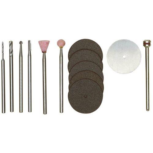 Proxxon Werkzeugkoffer »Werkzeugsatz für Modellbauer«, (13-tlg), silberfarben