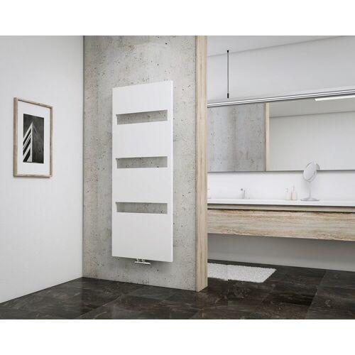 Schulte Designheizkörper »Turin«, für Badezimmer mit Blende und Mittenanschluss, weiß