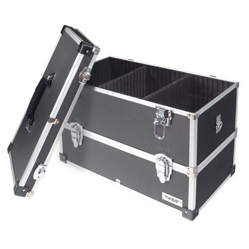 HMF Werkzeugkoffer, 14660-02, leer, 2 Etagen, 44 x 32,5 x 24 cm