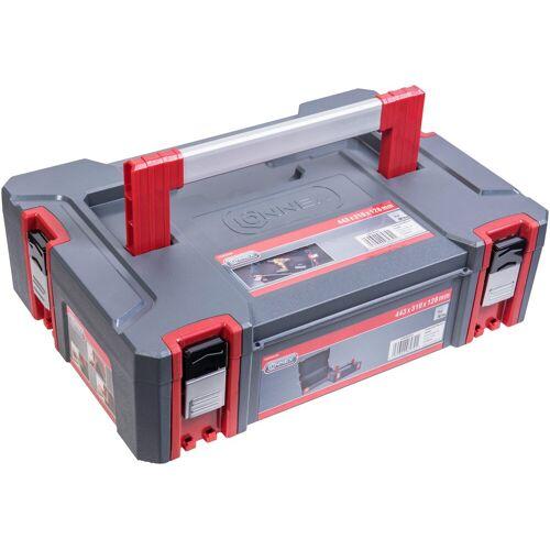 Connex Werkzeugkoffer Systembox, Größe S, rot