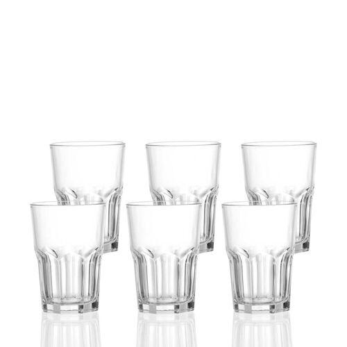 Ritzenhoff & Breker Longdrinkglas »4ME Longdrinkglas 400 ml 6er Set« (6-tlg)
