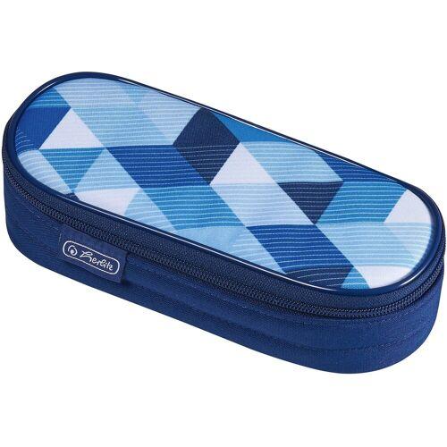 Herlitz Etui »Etui-Box Blue Cubes«, blau