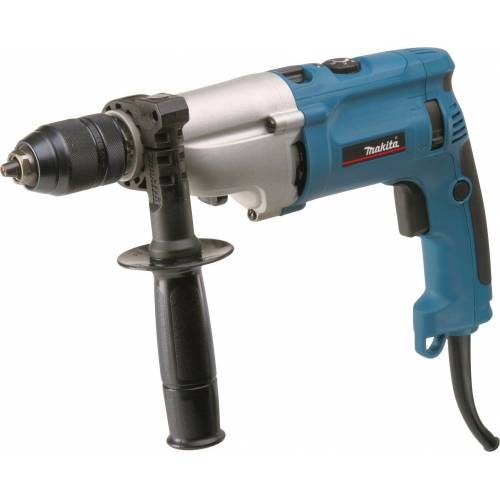 Makita Schlagbohrmaschine »HP2071J«, 1010 W, blau