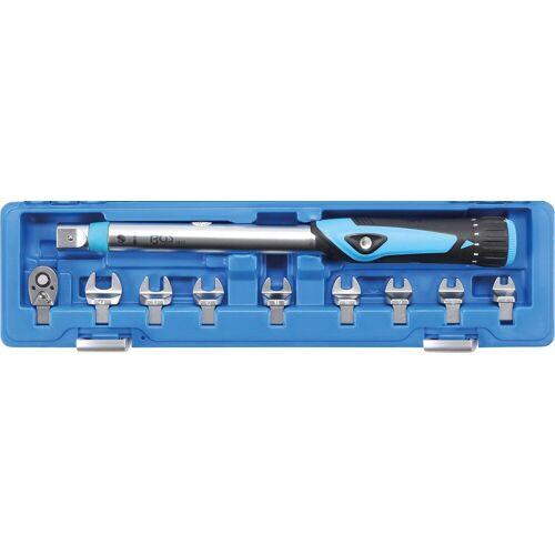 BGS Drehmomentschlüssel-Set 10-tlg., 10 - 50 Nm, blau