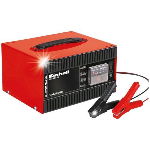 Einhell Batterieladegerät »CC-BC 5«, 5 A Ladestrom, rot