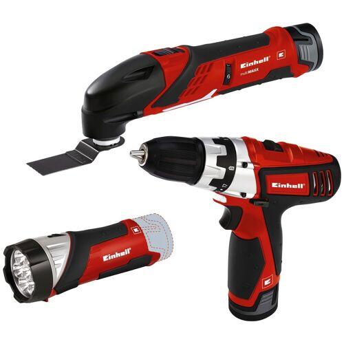 Einhell Werkzeugset »TE-TK 12 Li«, rot