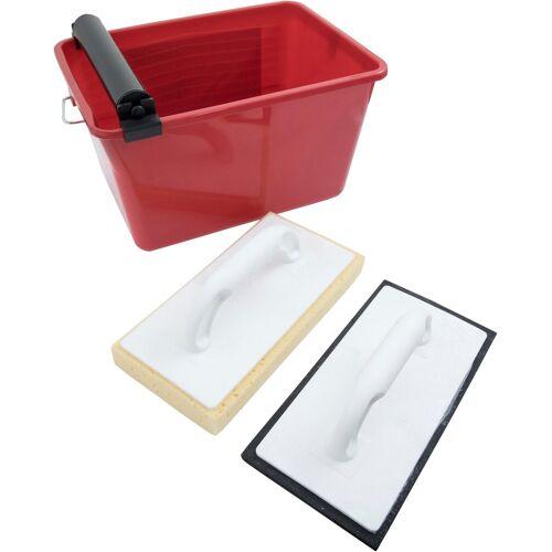 Connex Fliesenrollenwasch-Set, , (Set), inkl. Wascheimer und 2 Waschbrettern