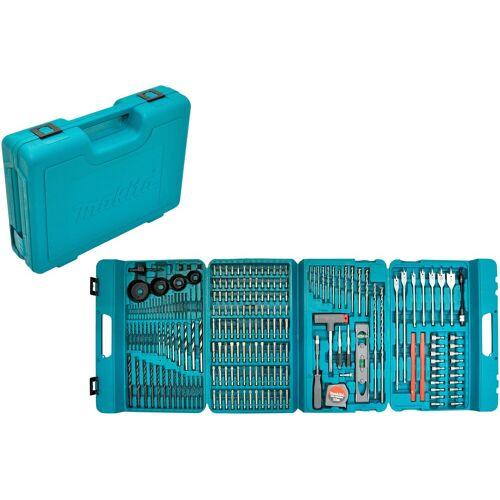 Makita Bohrer- und Bit-Set »P-44046«, 216-tlg., blau