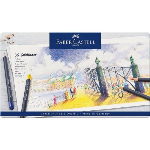 Faber-Castell Buntstift »Buntstifte Goldfaber, 36 Farben«