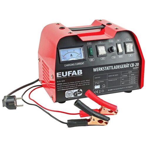 EUFAB »CB-20« Batterie-Ladegerät (14500 mA, 12 V/24 V)
