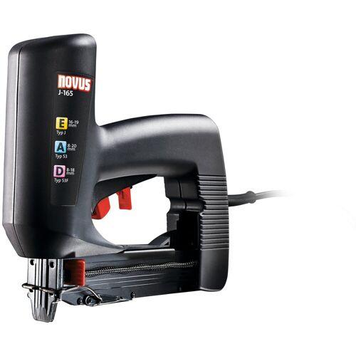NOVUS Elektro-Tacker »J-165«, 230 V, schwarz