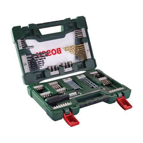 Bosch Bohrer- und Bit-Set »V-Line«, 91-tlg., grün