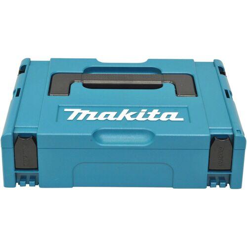Makita Werkzeugkoffer »Makpac Gr.1«, leer, 395 x 105 x 295 mm, blau