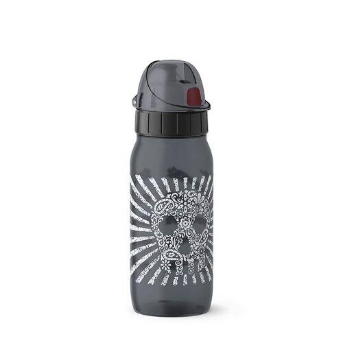 Emsa Trinkflasche »Trinkflasche PP Anthrazit Drink2Go«, Trinkflasche