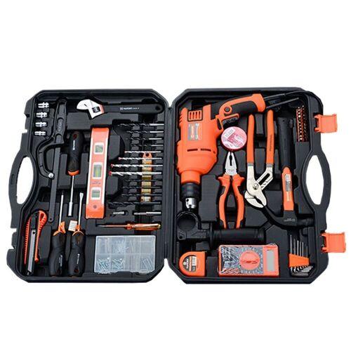 HARDEN Tools Werkzeugkoffer »Werkzeug-Set 75-teilig mit Schlagbohrer«