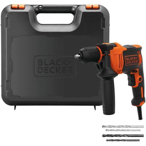 Black & Decker Schlagbohrmaschine, 230 V, max. 2800 U/min, ohne Akku