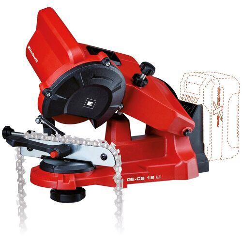 Einhell Sägekettenschärfgerät »GE-CS 18 Li-Solo«, für alle gängigen Sägeketten, rot