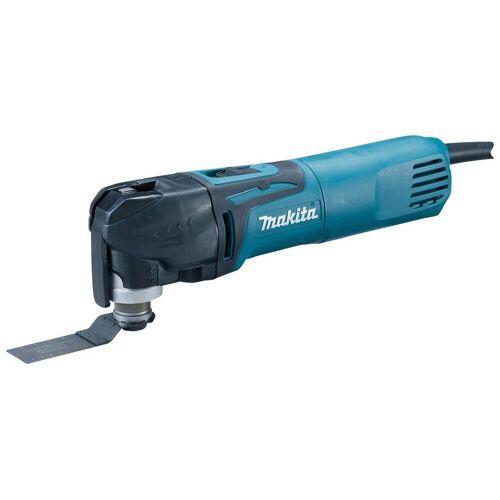 Makita Multifunktionswerkzeug »TM3010CX4J«, 320 W, blau