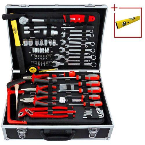 FAMEX Werkzeugkoffer »759-63«, 125-tlg. Set mit Universalbestückung, schwarz