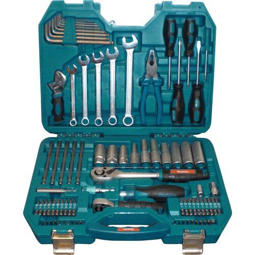 Makita Werkzeugset »P-90093«, (83-tlg.), blau