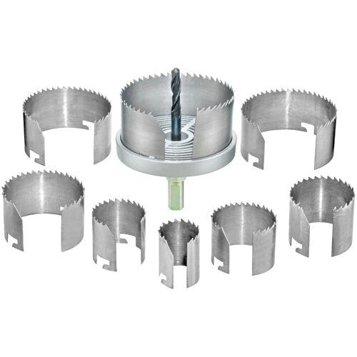 Connex Lochsäge »25-68 mm«, Set, für Rohrdurchführungen, Ventilationsinstallationen und Hohllochbohrungen