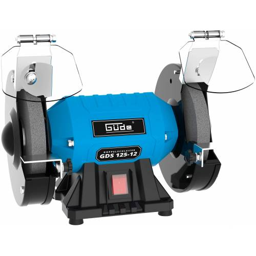Güde GÜDE Doppelschleifer »GDS 125-12«, 230-240 V, 120 W, blau