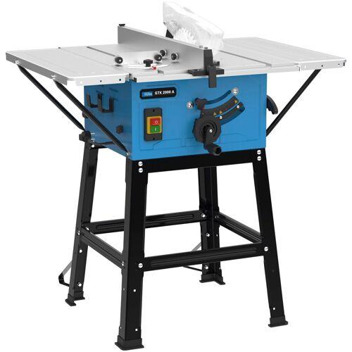 Güde GÜDE Tischkreissäge »GTK 2000 A«, 2000 W, 250 mm, blau