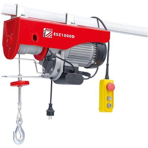 Holzmann -MASCHINEN Elektrischer Seilzug »ESZ1000D_230V«, 1000 kg, 6 Meter, rot