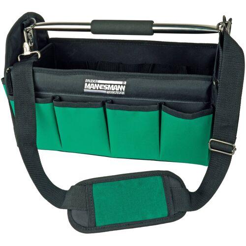 Brüder Mannesmann Werkzeuge BRUEDER MANNESMANN WERKZEUGE Werkzeugtasche , ohne Werkzeuge, grün/schwarz