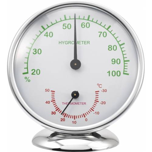 Renkforce »Thermo-/Hygrometer 6510 Alu« Funkwetterstation