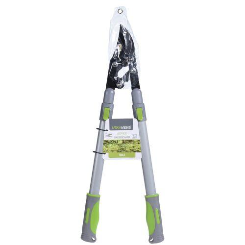 HTI-Living Astschere mit Teleskopgriffen, Grün, Grau