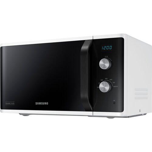 Samsung Mikrowelle MS23K3614AW/EG, Mikrowelle, Grill, 23 l, Mit 6 Leistungsstufen