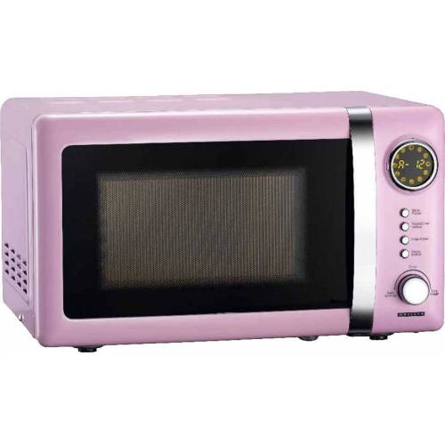 MELISSA Mikrowelle Retro Design 16330112 rosa / pink