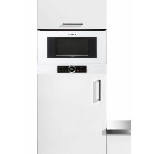Bosch Einbau-Mikrowelle BFL634GW1, Mikrowelle, 21 l, weiß