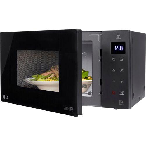 LG Mikrowelle MS 2336 GIB, Neo Chef, Mikrowelle, 23 l, Smart Inverter Technologie, echte Glasfront