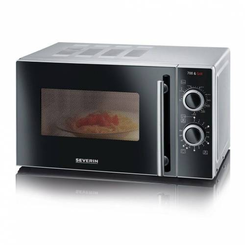 Severin Mikrowelle MW7875 Mikrowelle mit Grill silber