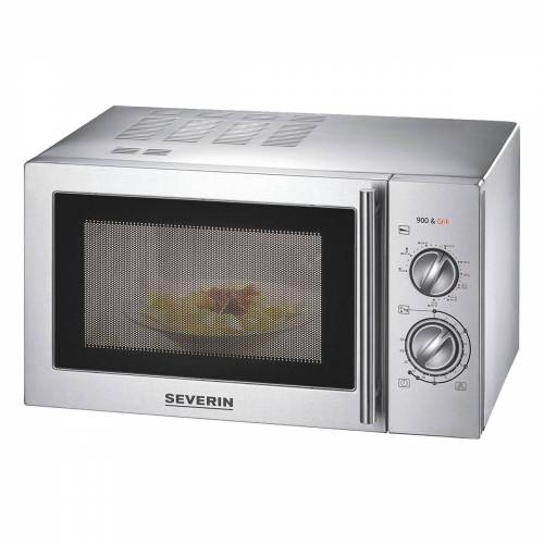 Severin Mikrowelle MW 7869, mit Grillfunktion 2-in-1