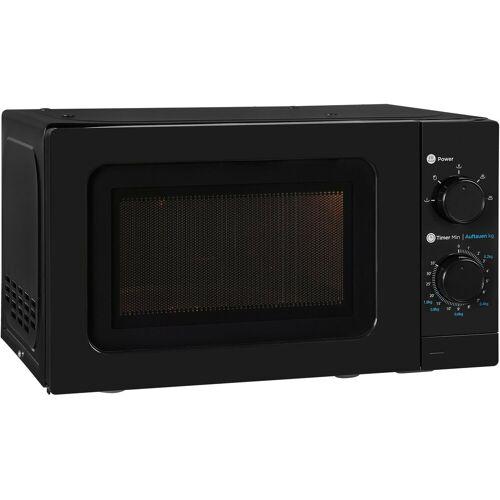 exquisit Mikrowelle WP 700 J17-3 sw, Mikrowelle, 20 l