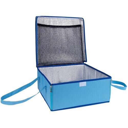 WENKO Kühltasche BLAU, 23 l, Transporttasche für Kuchen