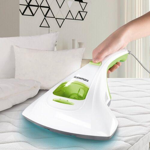CLEANmaxx Handstaubsauger, 300 Watt, Milben-Handstaubsauger limegreen