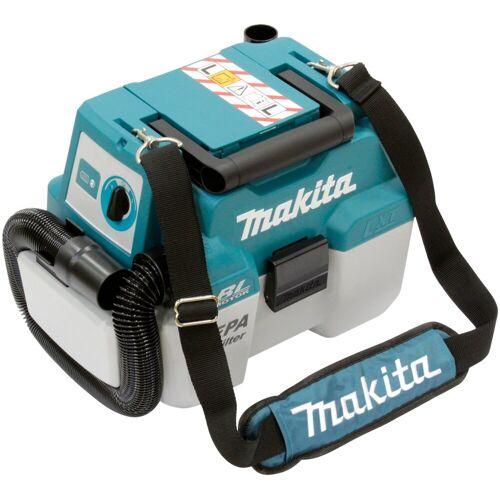 Makita Akku-Handstaubsauger »DVC750LZX1«, 18 V, ohne Akku, blau
