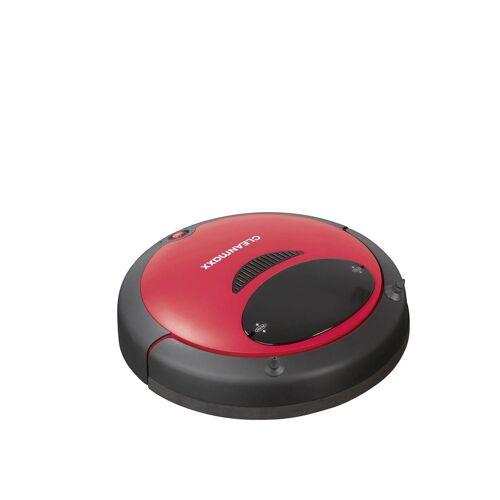 Saugroboter mit leistungsstarkem Akku, schwarz-rot