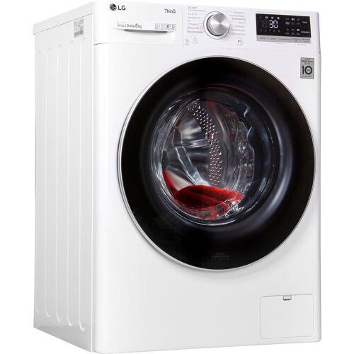 LG Waschmaschine F4WV508S1, 8 kg, 1400 U/min, Energieeffizienzklasse C (März 2021)