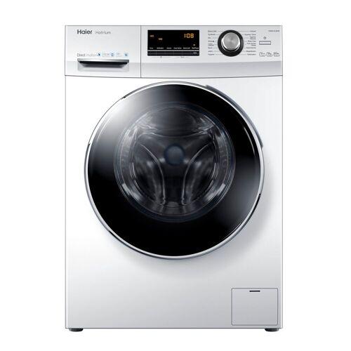 HAIER Waschmaschine HW80-B1463, A+++ Direct Motion Motor Vollwasserschutz Schontrommel aus Edelstahl, Energieeffizienzklasse A+++